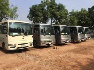 Minibus in Bangladesh
